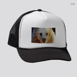 Lightening Polar Bear Kids Trucker hat