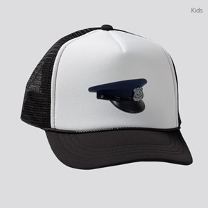 PoliceCapProfile090411 Kids Trucker hat