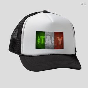 Vintage ITALY Kids Trucker hat