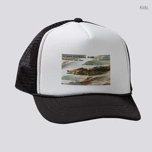 Acadia National Park Coastline Kids Trucker hat