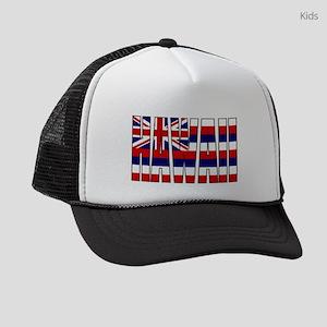Hawaii Flag Kids Trucker hat