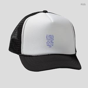 Shopping for a Friend Kids Trucker hat