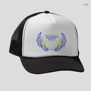 Angel Wings Kids Trucker hat