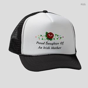 Irish Mom Kids Trucker hat