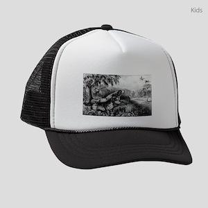 Woodcock shooting - 1870 Kids Trucker hat