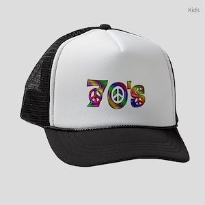 Colorful 70s Kids Trucker hat