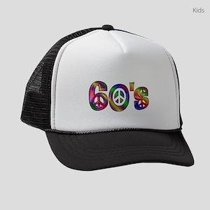 Colorful 60's Kids Trucker hat