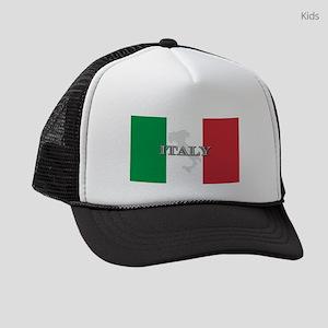 i-flag-extra Kids Trucker hat