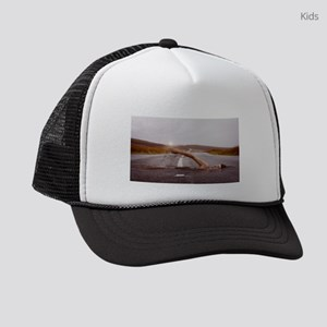 Swimming Down the Street Kids Trucker hat