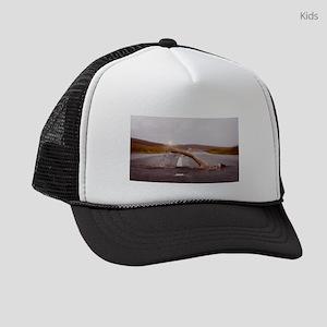 Swimming Down the Street Kids Trucker hat