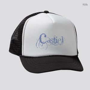 Castiel Blue Kids Trucker hat