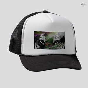 Through the Eyes of a Tiger Kids Trucker hat