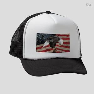 United States of America prayer Kids Trucker hat