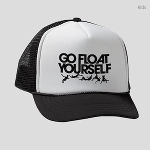 The 100 Go Float Yourself Kids Trucker hat