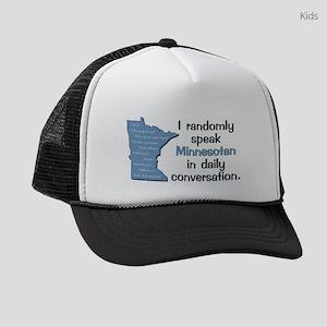 Random Minnesotan III Kids Trucker hat