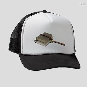 OldSchoolBooks071809 Kids Trucker hat