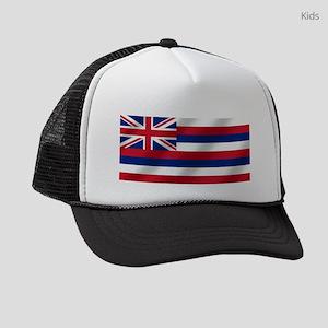 Hawaii State Flag Kids Trucker hat