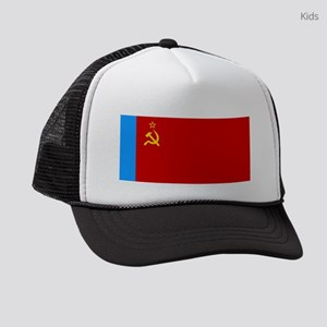 Russia - National Flag - 1954-1991 Kids Trucker ha