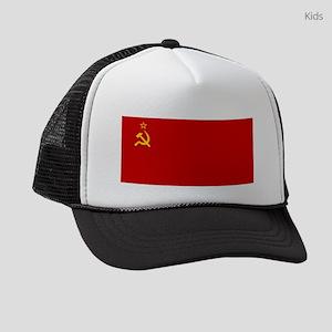 Russia - Soviet Union Flag -1923-1991 Kids Trucker