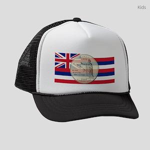 Hawaii Quarter 2008 Kids Trucker hat