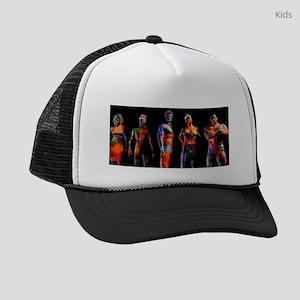 Business People Background Kids Trucker hat