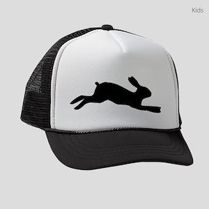 Rabbit Silhouette Kids Trucker hat