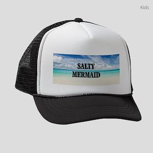 Umsted Design Salty Mermaid Kids Trucker hat