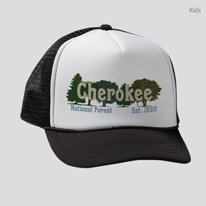 Print Press Cherokee National For Kids Trucker hat