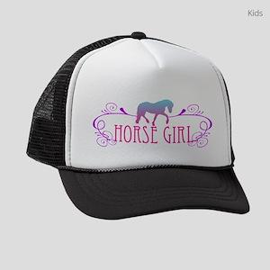 horse girl Kids Trucker hat
