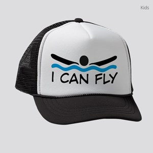 I can fly Kids Trucker hat