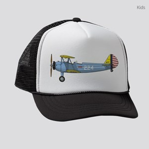 PT-17 Stearman Kids Trucker hat