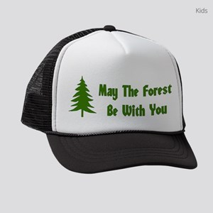 May The Forest Be With You Kids Trucker hat