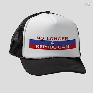 No Longer A Republican Kids Trucker hat