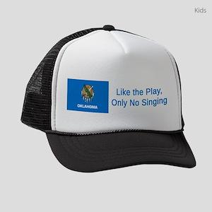Oklahoma Humor #1 Kids Trucker hat