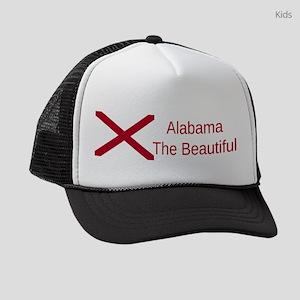Alabama Motto #3 Kids Trucker hat