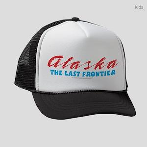 Alaska - Last frontier Kids Trucker hat