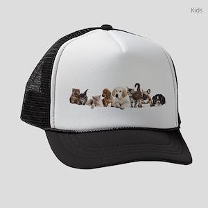 Cute Pet Panorama Kids Trucker hat