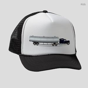 Petrol Tanker Truck Kids Trucker hat