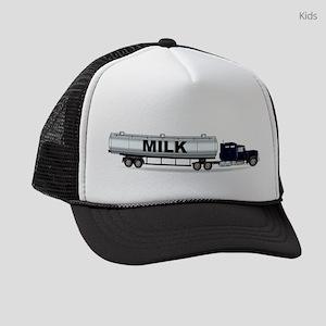Milk Tanker Truck Kids Trucker hat