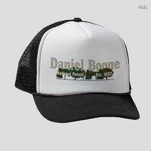 Vintage Daniel Boone National For Kids Trucker hat