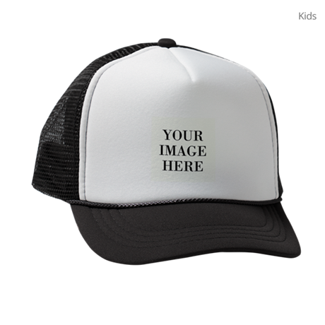 Your Photo Here by Leslie Harlow Kids Trucker hat