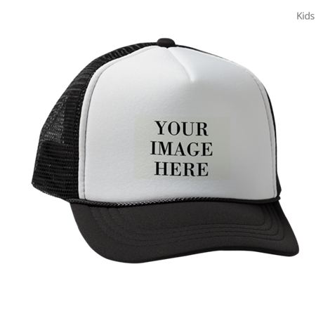 Your Photo Here Design Kids Trucker hat