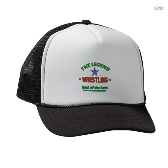 The Legend Wrestling Sports Designs