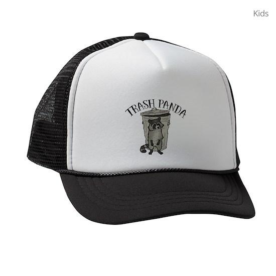 80992f83 Raccoon Trash Panda Kids Trucker hat
