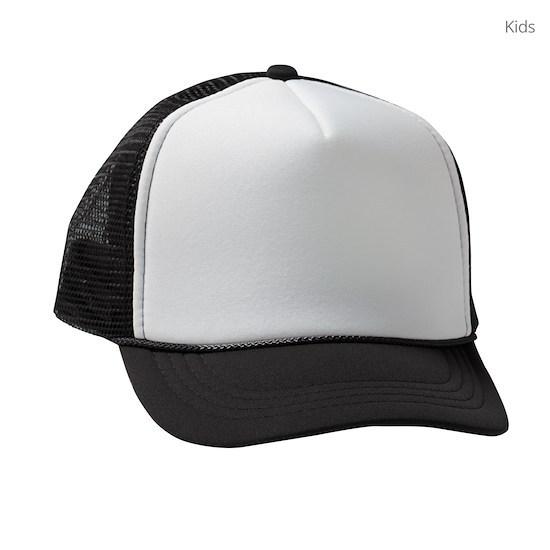 6679500f Scorpion Tail Swirl Tie-Dye Kids Trucker hat by TiedyeWorld - CafePress