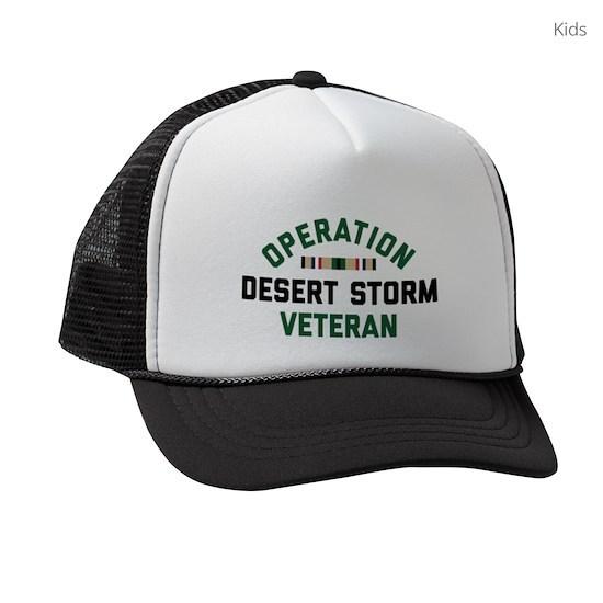 b1ab2cc23 Operation Desert Storm Veteran Kids Trucker hat