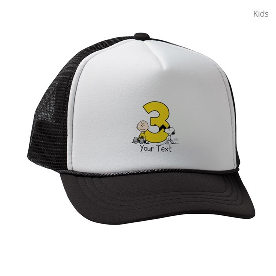 Peanuts Personalized 3rd Birthday