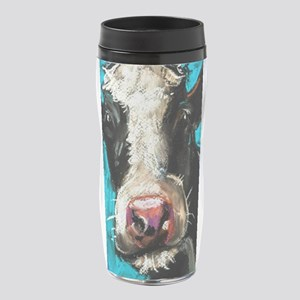 Cow Painting 16 oz Travel Mug
