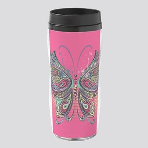 Colorful Butterfly 16 oz Travel Mug