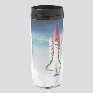 Space Shuttle Launch 16 oz Travel Mug